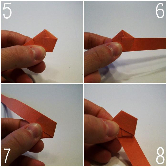 Как сделать из бумаги звезду маленькую